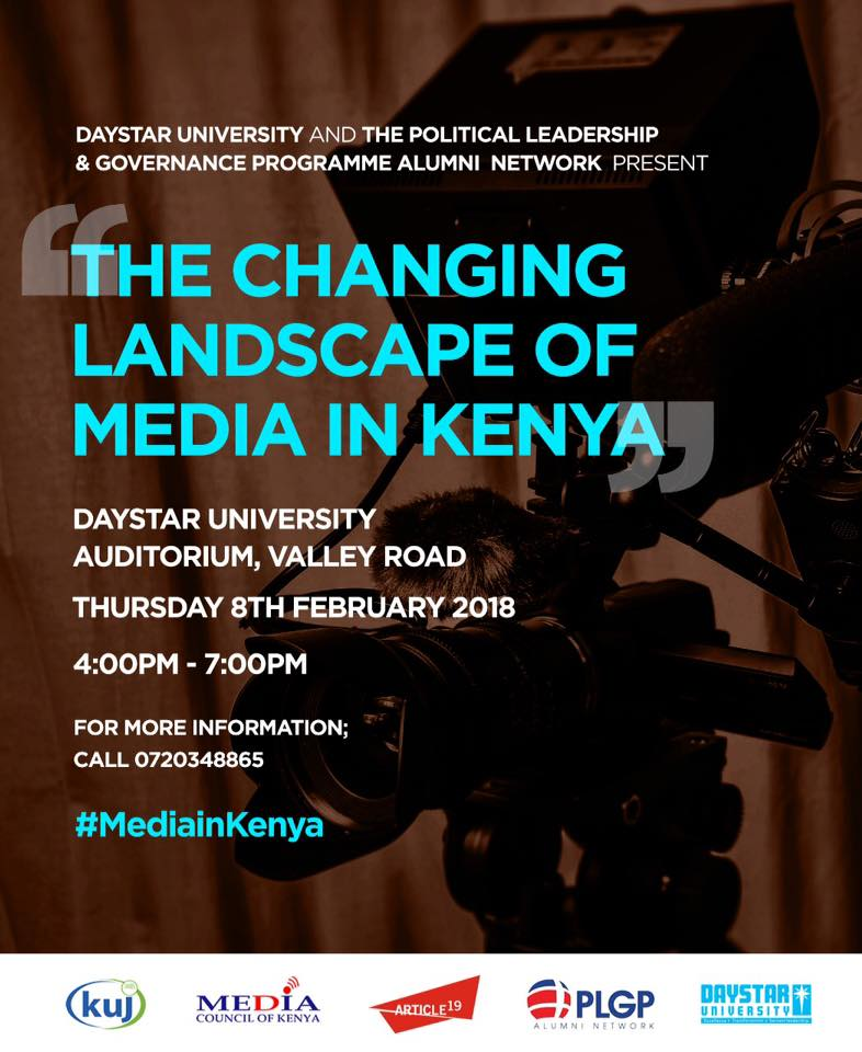 Invitation To Attend A Panel Discussion On The Changing Landscape Of